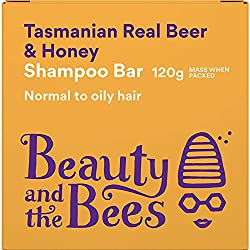 beauty and the bees Bier Shampoo Seife