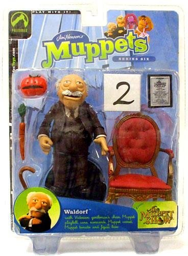 Muppet Show Series 6 > Waldorf Action Figure by Toy Rocket