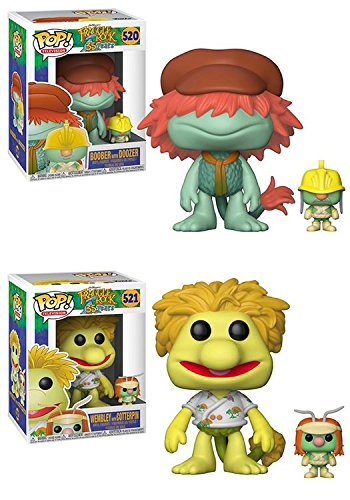 Funko POP! Fraggle Rock: Boober with Doozer + Wembley with Cotterpin – Vinyl Figure Set NEW