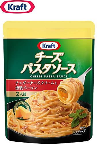 クラフト (Kraft) チーズパスタソース チェダーチーズクリームと燻製ベーコン×3袋