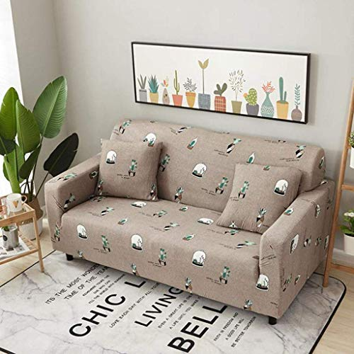 MKKM Fodera per la casa, fodera per divano, divani antiscivolo elasticizzati Protezioni per fodere per divano Copridivano per quattro stagioni universali,3 plazas 190-230cm (74-90inch)