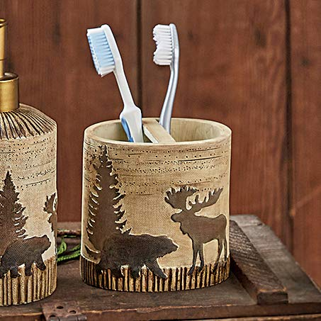 Moose & Bear Toothbrush Holder