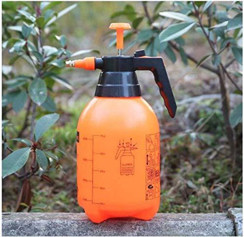 2 L Regadera Neumático Botella De Spray, Automático Pulverizador De Poder De Riego, Jardín De Riego Herramientas De Jardín De Flores Naranja