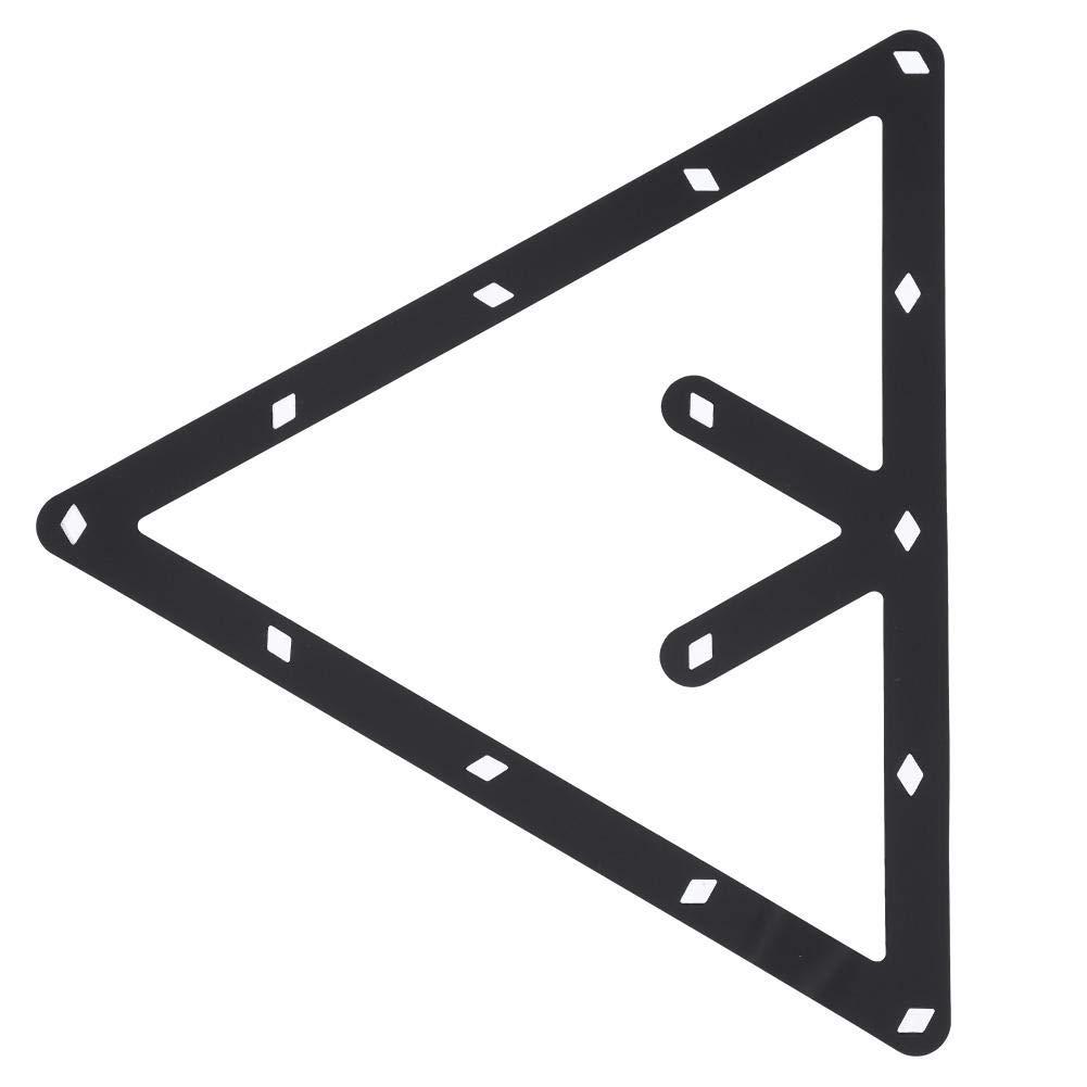 Estante de Billar, 6 Unids/Set Triángulo Estante de la Bola de la ...