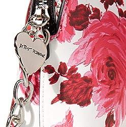 Betsey Johnson Everybody's Crossbody, Pink Floral