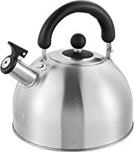 Theepot/waterkoker, huishouden/restaurant 304 roestvrij staal automatische fluitwaterkoker, verdikte dubbele bodem waterko...
