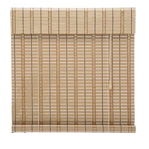 Store jour nuit Store de Store À Enrouleur de Fenêtre, Lattes de Bambou, Rideau Occultant Intérieur Extérieur Étanche pour Gazebo de Jardin Balcon Balcon (Color : W×H, Size : 60 × 90cm)