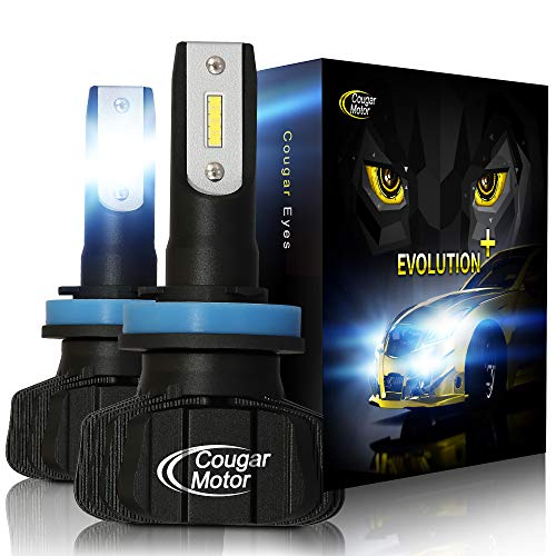 Cougar Motor LED Headlight Bulbs All in one Conversion Kit