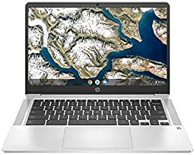 """HP Chromebook 14 14"""" FHD Laptop Computer, for Education or Student, Intel Celeron N4000, 4GB..."""