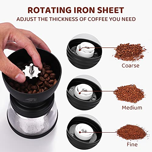 MLMLANT Molinillos de café manuales