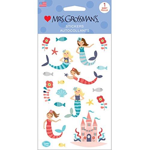 Mrs Grossman Stickers, Multi-Colour, 0.26 x 10.8 x 22.23 cm