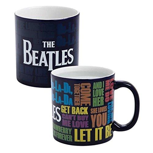 The Beatles - Taza reactiva de calor Drop T