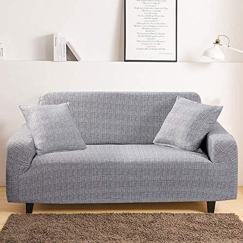 DANNEIL Fundas Sofa Elasticas, para Sofá De La Sala La Funda para Sofa Universales Modernas, Tela Suave Y Cómoda, Protege Tu Sofá Y Reduce El Desgaste (Colour6,2 Seater 135-175cm)