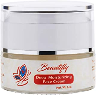 Deep Moisturizing Face Cream, Face Moisturizing, Natural Ingredients, Optimal Results, Day/Night application 1 oz