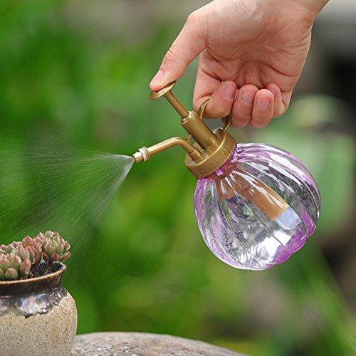 oobest 350 ml spuitfles voor handfles, vintage pompoen stijl plant mister bloem gietkan pot tuin accessoires