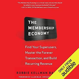 The Membership Economy audiobook cover art