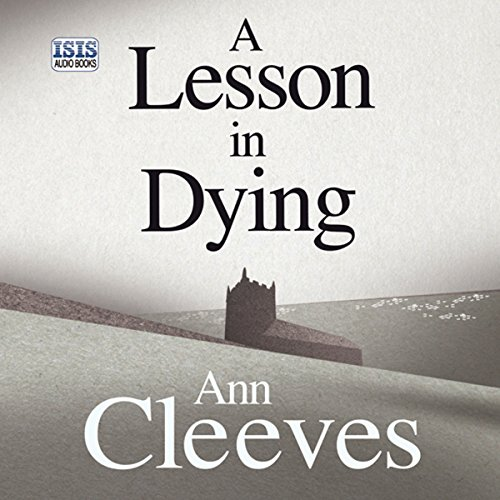 A Lesson in Dying audiobook cover art
