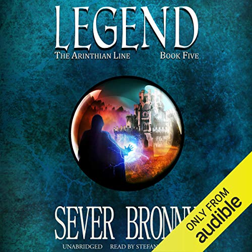 Legend audiobook cover art