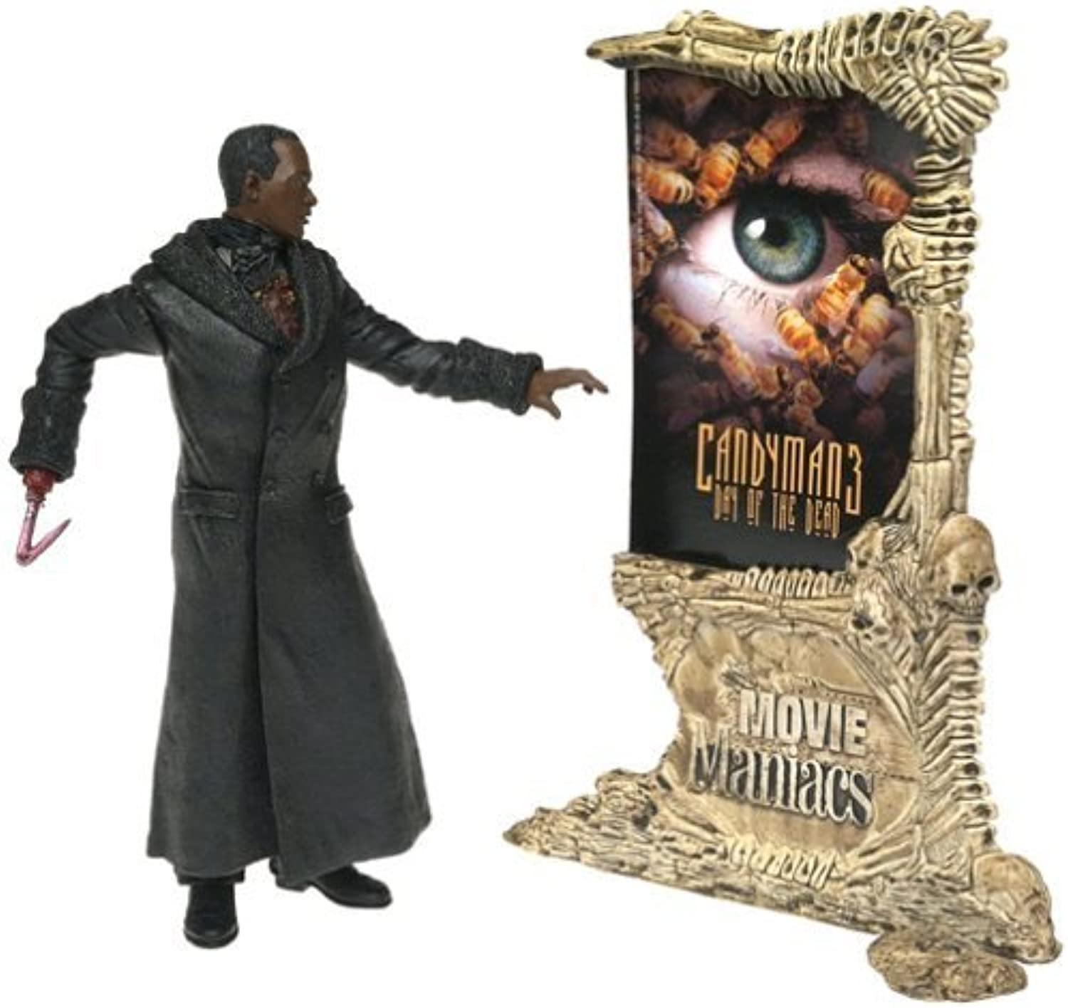 McFarlane Toys Movie Maniacs Series 4 Action Figure Candyman 3 Day of the Dead Candyman by Movie Maniacs