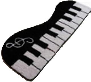 X-xyA Latch Hook Kit, Rug Making Kit, DIY Latch Rug Mat Piano,A,23.5 inch X 8.7 inch