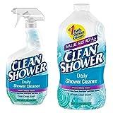 Clean Shower Daily Shower Starter Kit Refill Bundle...