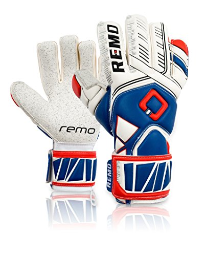 REMO Sports Guarda Latex Torwarthandschuhe Negative Cut (blau, 8)