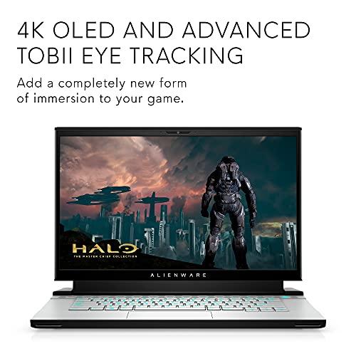 Alienware m15 R4 15.6 Inch 4K UHD+ Gaming Laptop, Intel Core i7-10870H,...