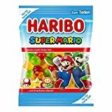 Haribo Super Mario Special Edition Fruchtgummi mit Schaumzucker 175g