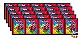 Panini Miraculous Ladybug Super Heroez Team Sticker – (25 bolsas de pegatinas) cada uno con 4 pegatinas + 1 tarjeta adhesiva & tarjeta Trading además 1 x surtido de frutas Sticker-und-co