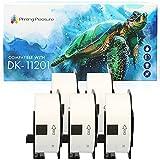 5x Compatible DK-11201 29mm x 90mm Etiquetas de dirección (400 Etiquetas por Rollo) para Brother P-Touch QL-500 550 570 700 710W 720NW 800 810W 820NWB 1050 1060N 1100 1110NWB, alta capacidad adhesiva