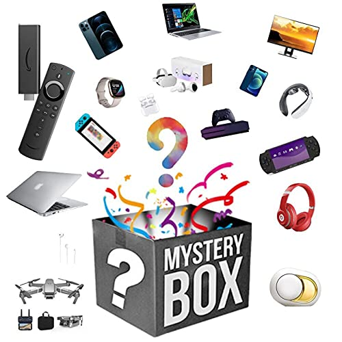 Mystery Lucky Box Mysteries Boxes Electronic - Anything...