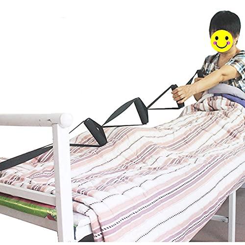 Cintura di aiuto per il risveglio del paziente, cinture di sollevamento per anziani, fornisce trasferimenti sicuri da auto, letto, sedie a rotelle, dispositivi di assistenza per la mobilità scorrevole