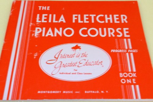 The LEILA FLATCHER Piano Course Progress Pages Book One