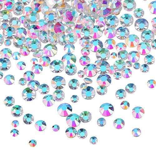 3456 Piezas Cristales AB Diamantes Imitación Arte
