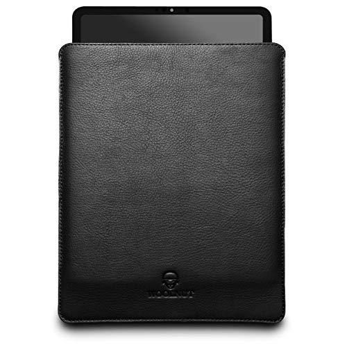Woolnut Leder Sleeve Case Hülle Tasche für iPad Pro 12.9 Zoll - Schwarz