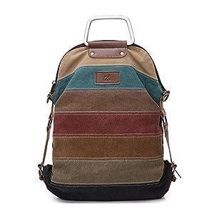 La Desire Mujeres Vintage Mochila Escolar Daypacks damas mochila casual bolso bolsos mochila Para el trabajo escolar…   DeHippies.com