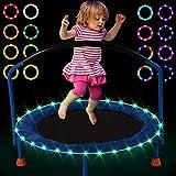 LED Mini Trampoline Lights,Remote Control Baby Trampoline Rim LED Light for 40',38',36' Mini...