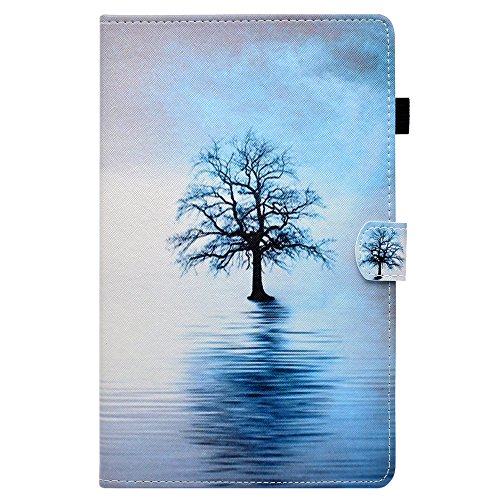 UK-Cherry Amazon Kindle Paperwhite Funda, Voltear Soporte de Soporte Funda Protectora para Amazon Kindle Paperwhite 1/2/3, Water Tree