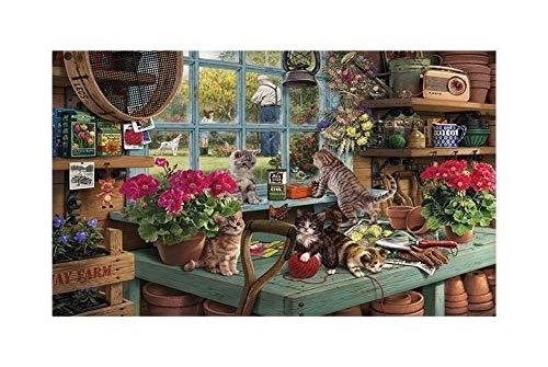 DSACXZ 300/500/1000 stuks, puzzels voor volwassenen, verjaardagsgeschenken van panorama, Jigsaw puzzelcadeaus voor familie, spelletjes voor kinderen, jongeren