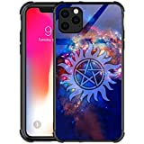 Compatible with iPhone 12 Pro Max Case,Supernatural Cosmos iPhone 12 Pro Max Cases for Girls,Anime Pattern Design Shockproof Non-Slip Case for Apple 12 Pro Max