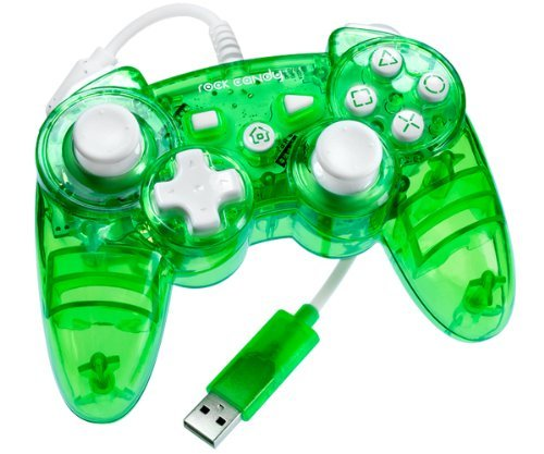 Rock Candy PS3 Controller - Green by PDP