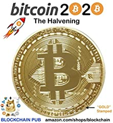 👍 BLOCKCHAIN PUB uses real 24K gold plating - #1 Quality 👍 Fun to display on your desk, store or use as promo material for social networks 👍 Great conversation starter to introduce Bitcoin 👍 When you hold this coin, it's a reminder to HOLD YOUR PRIVA...