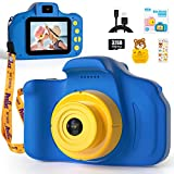 Peradix Kids Digital Camera, Rechargeable Children Digital Camera Video Camcorder Toys Gifts