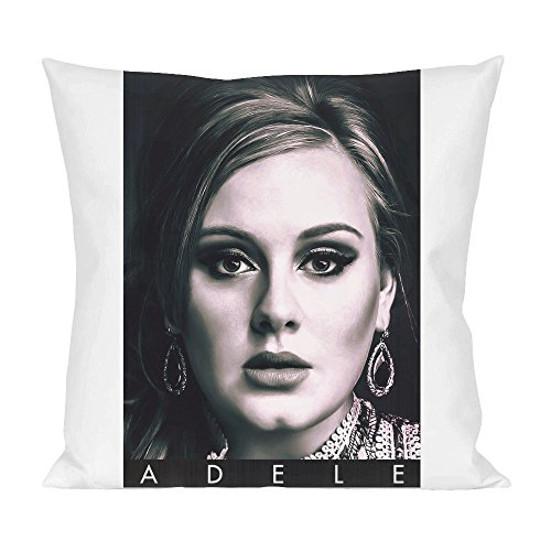 Adele Portrait Photo Famous Merchandise Pillow