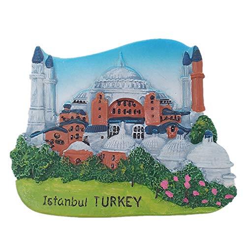 3D-Kühlschrankmagnet, Istanbul Türkei, Reise-Souvenir, Geschenk, Heim- und Küchendekoration, Magnet-Aufkleber, Istanbul Türkei Kühlschrankmagnet