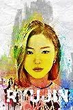 Ryujin: Itzy Member Color Splatter Art 100 Page 6 x 9