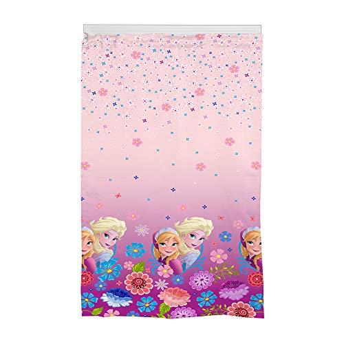 "Franco Kids Room Darkening Window Curtain Panel, 42"" X 63"", Pink, Disney Frozen"