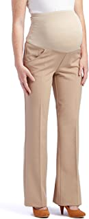 Times Two Maternity Women's Flare Leg Dress Pants