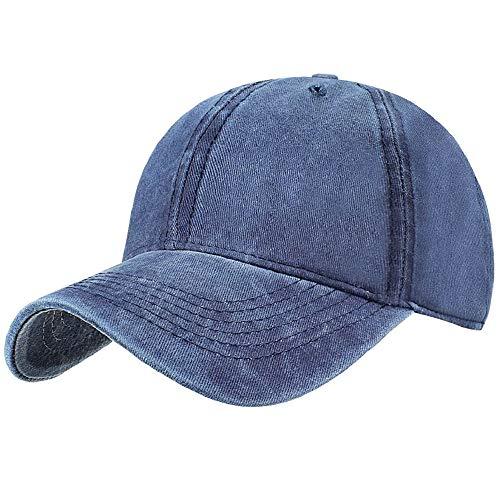 Tuopuda Gorra de Béisbol Classic Unisex Ajustable Washed Teñido Gorras de Béisbol de Algodón Sombrero de...