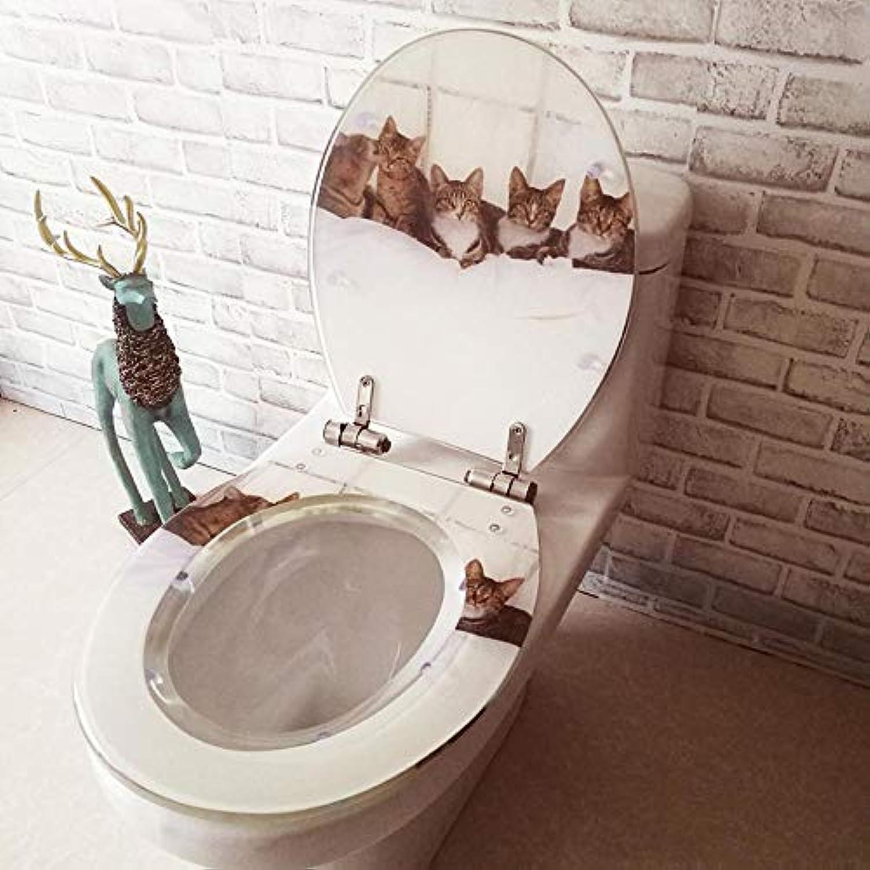 WC-Sitze Hochwertige Ktzchen Soft Slow Close Scharnier Toilettendeckel Abdeckung Für Familien Badezimmer Montage Blende Lnge  10-20cm